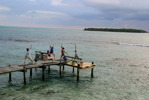Belize yoga