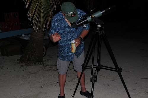 Belize stargazing