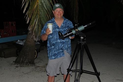 Belize astronomy