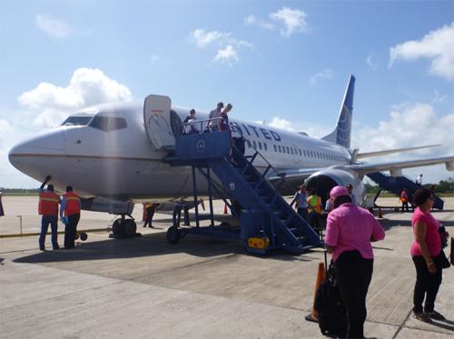 Arriving in Belize