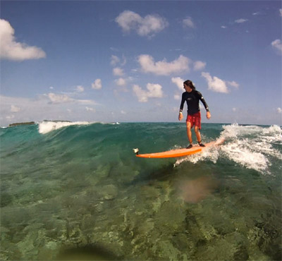 Family friendly surfing vacations