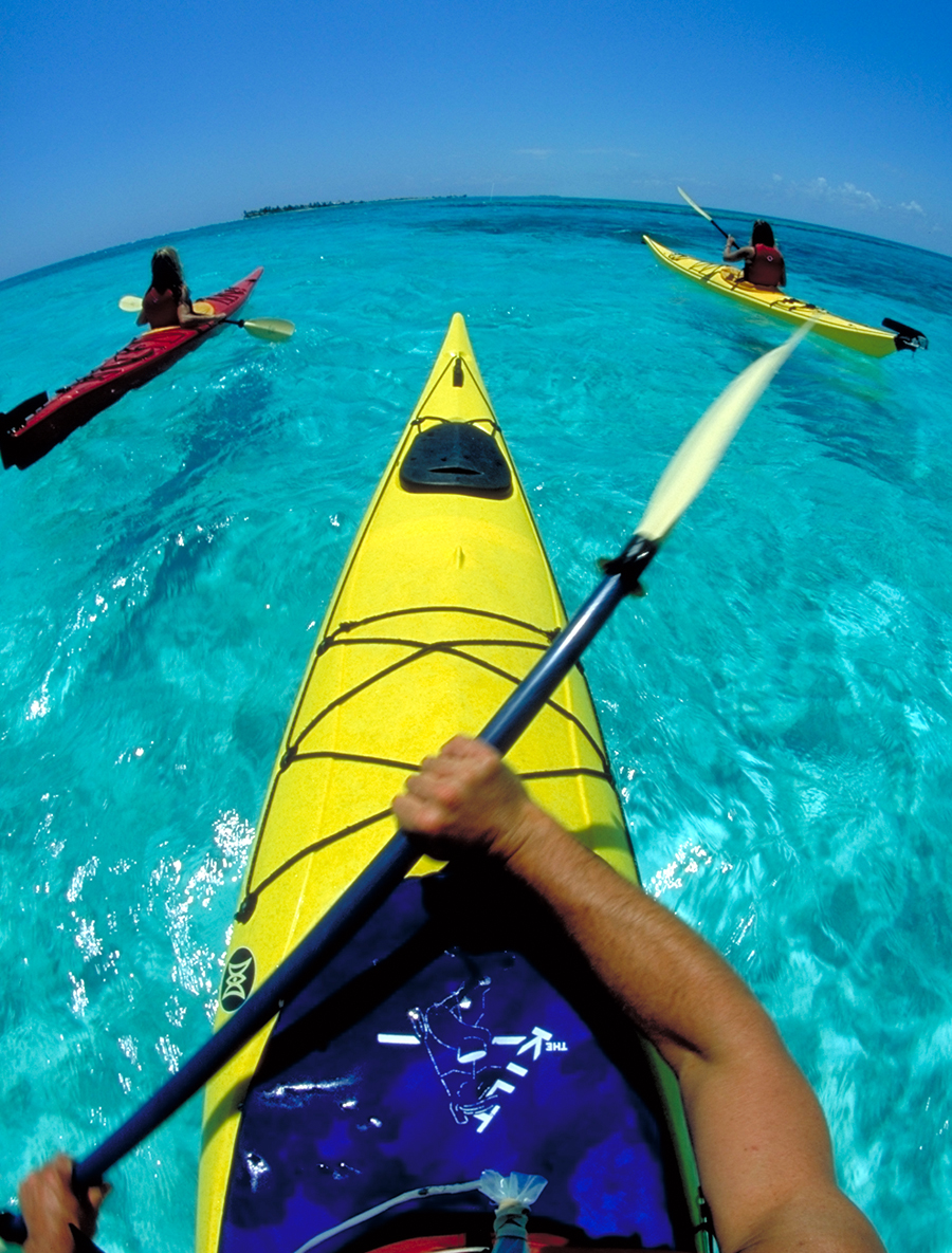 sea kayak exercises