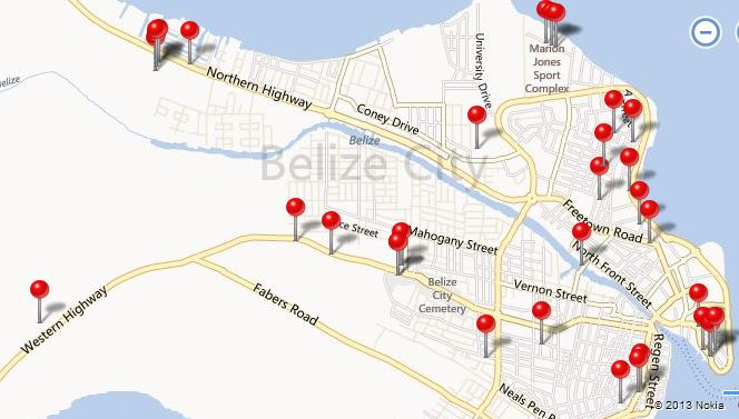WiFi Hotspots in Belize City