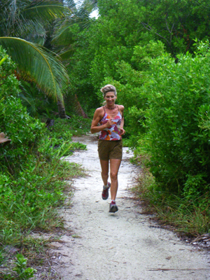 running in belize