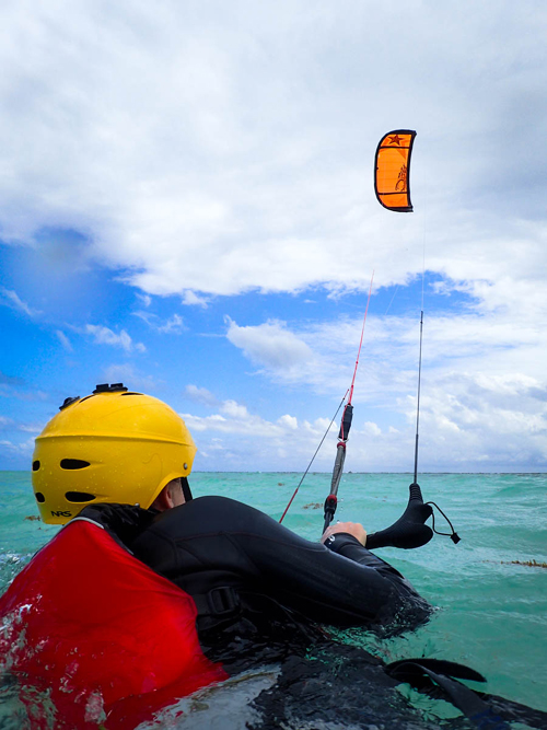 kitesurfing instruction belize