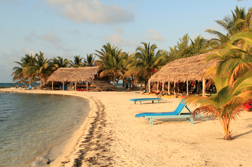 Our beach as it looks when you arrive