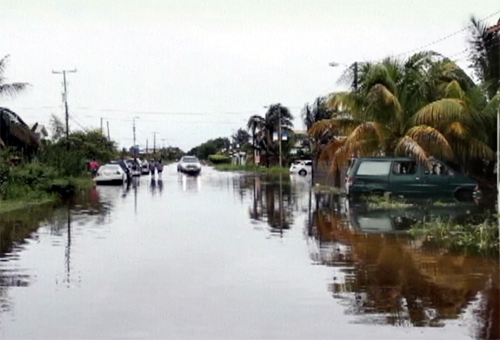 Belize City floods