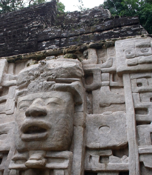 Picture of Lamanai Mayan Ruins in Belize